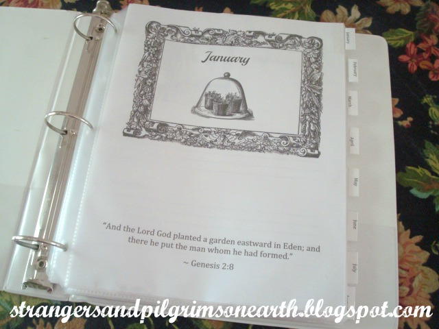 A Little Something For You: Garden Journal Template