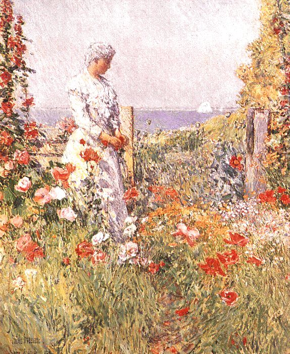 Painting by Childe Hassam