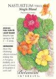 Tall Single Blend Nasturtium Seeds - 3g