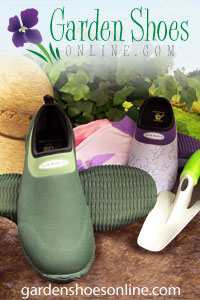 Great shoes for gardeners