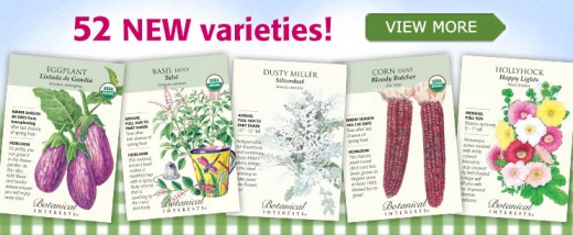 Excellent seed house with heirloom and gourmet varieties of veggies, herbs, and more. Very high quality seeds.