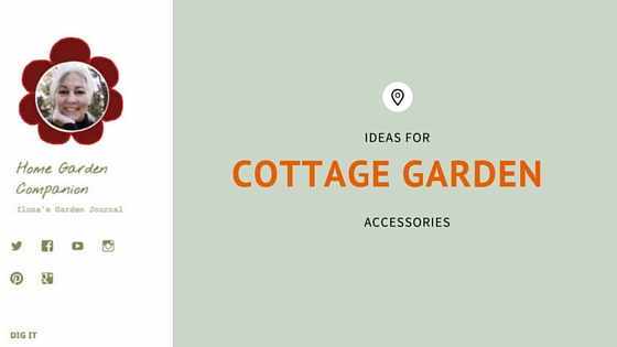 Pretty Cottage Garden Accessories