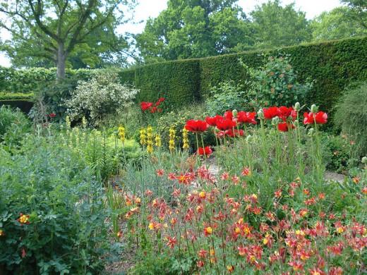 In the Cottage Garden at Sissinghurst