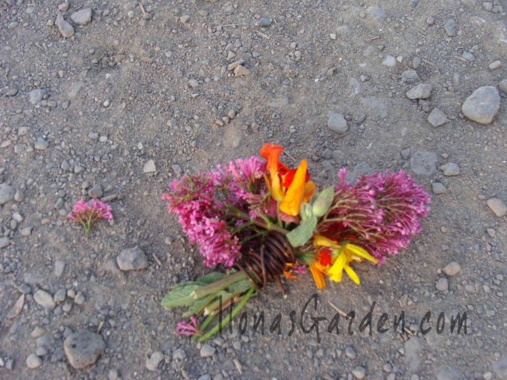 found bouquet