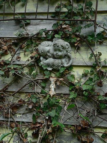 garden ornament find